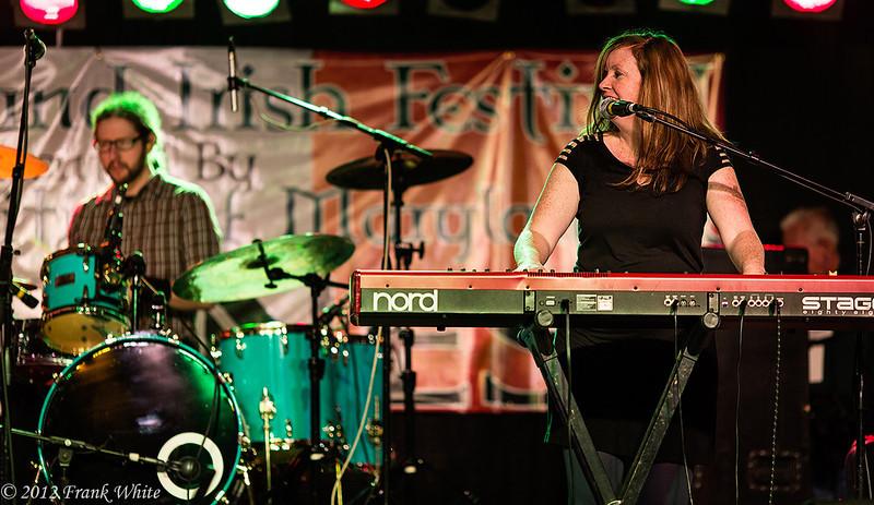 Searson at the Maryland Irish Festival, Baltimore, MD, 2012.