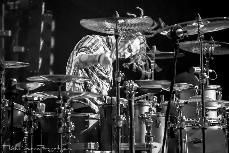 Morgan Rose of Sevendust<br /> <br /> Palladium Ballroom<br /> Dallas TX<br /> 4-28-2013