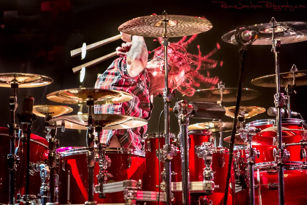 Morgan Rose of Sevendust<br /> <br /> Palladium Ballroom<br /> Dallas TX<br /> 4-28-2013
