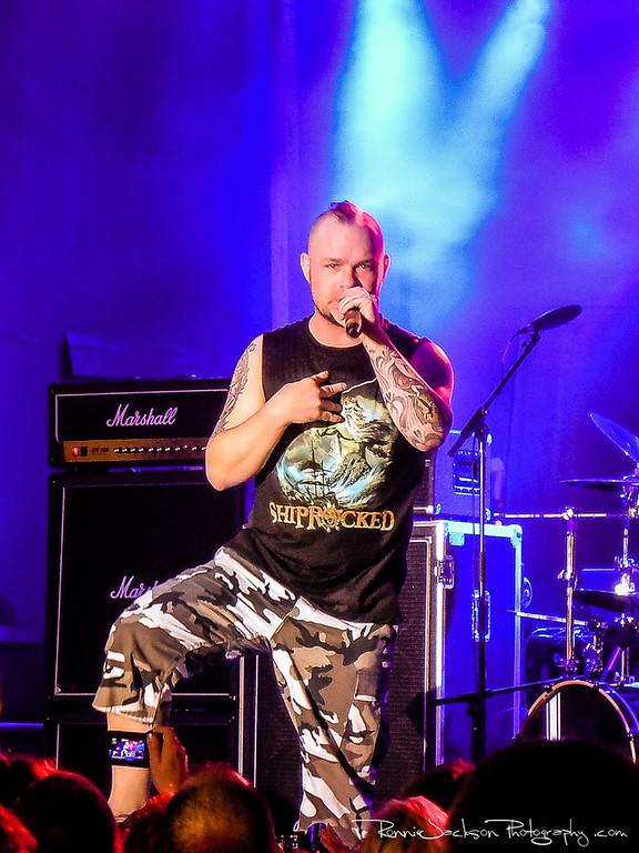 Ivan Moody of Five Finger Death Punch performing on Shiprocked 2012 Cruise.<br /> <br /> 11/29/2012<br /> © 2012 Ronnie Jackson Photography