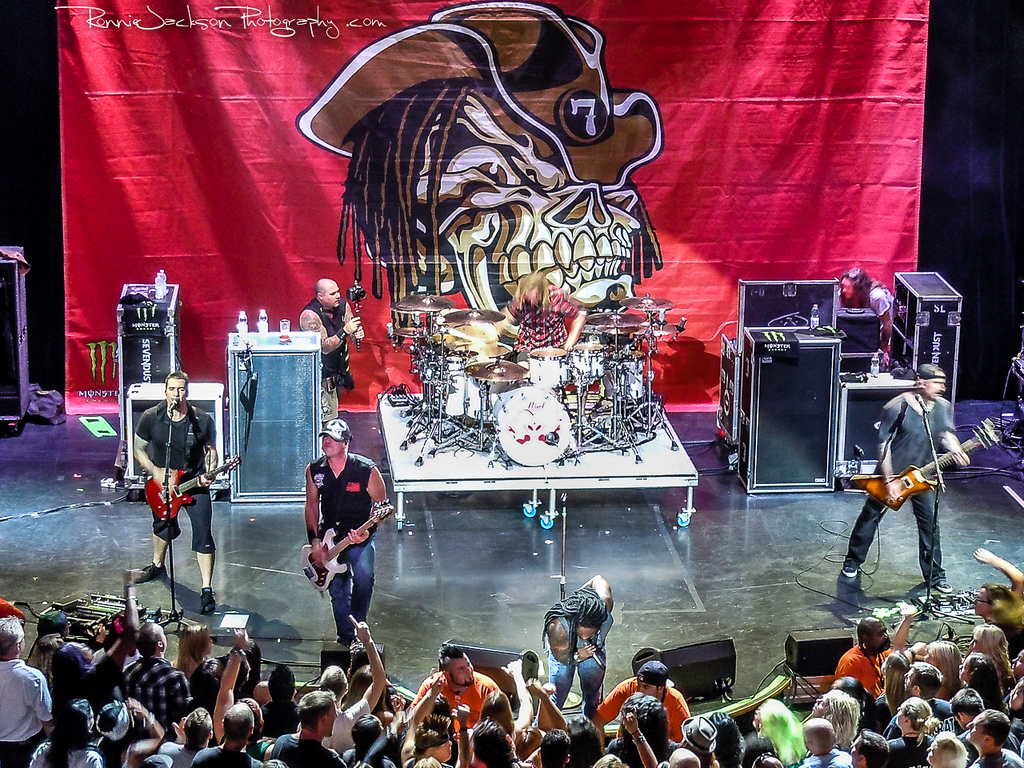 Sevendust performing on Shiprocked 2012 Cruise.<br /> <br /> 11/30/2012<br /> © 2012 Ronnie Jackson Photography