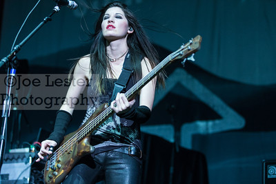 Sick Puppies perform at the X103.9 FM Merry Meltdown at Citizen's Bank Arena in Ontario, CA. :Pictured Emma Anzai (Photo by: Joe Lester / SoCalMusicToday.com)