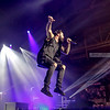 John Cooper airborne - Skillet at Winter Jam WVa 1-5-18 © Annette Holloway Photo