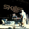 Setting up for Skillet - notice the Macbook Air ;-)