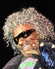 SLY STONE cameo at George Clinton Concert.  March 2011 at the Universal Amphitheater in Los Angeles.