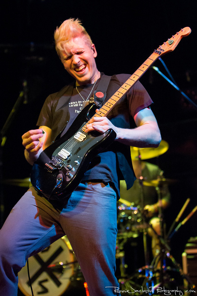 Neil Swanson of Son of Swan performing at Curtain Club in Dallas on 6-7-2013
