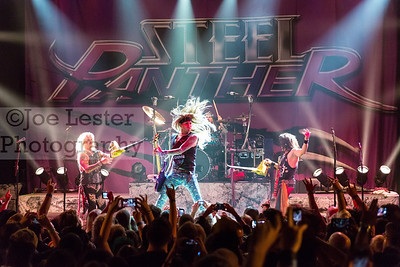 Steel Panther perform at the Sunset House of Blues in W. Hollywood, CA 6-11-15 (photo by: Joe Lester)