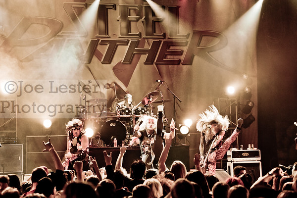 Steel Panther - HOB Hollywood 4-16-12