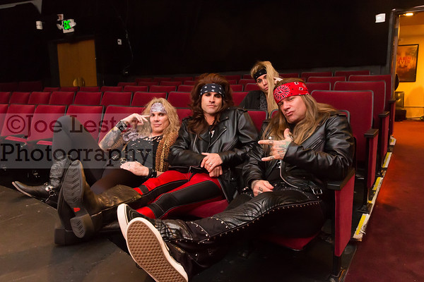 Steel Panther - World Premiere of 'Live From Lexxi's Mom's Garage' DVD 2-18-16