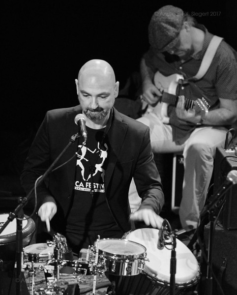 The Stimulators play at Ampere, November 2017