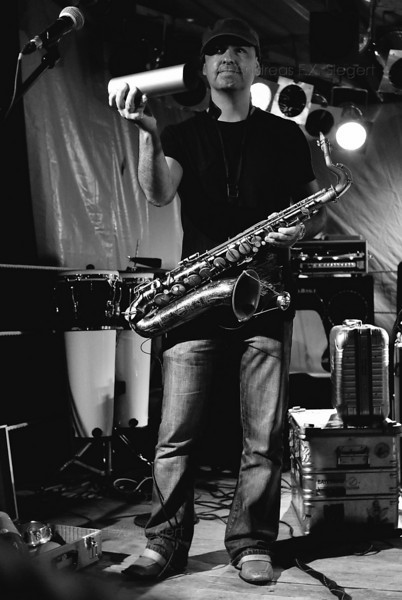Marcio Tubino<br /> Stimulators live am Klosterseefest 2008
