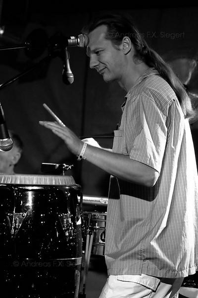 Hans Mühlegg<br /> Stimulators live am Klosterseefest 2008