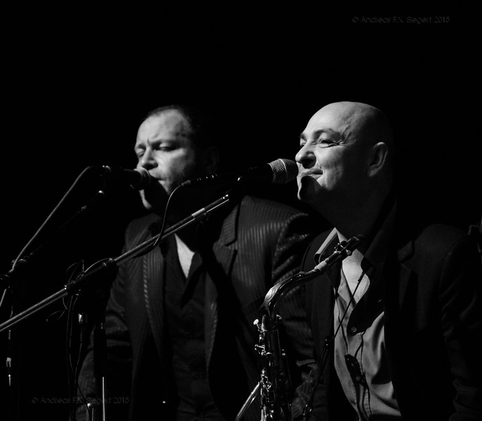 The Stimulators play at Altes Kino in Ebersberg, January 2015