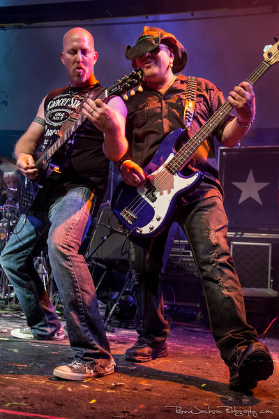 "Ron Harper and Darrin Oreams of ""Sweatin Bullets"" performing at Cancer Sucks! Handlebars and Hotrods Benefit Concert<br />  Cain's Ballroom in Tulsa Ok.<br />  5/11/2013<br /> <br /> © 2013 Ronnie Jackson Photography"