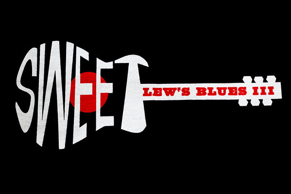 Sweet Lew's Blues III Festival,  Trenton Texas.  Featuring Lance Lopez, Wes Jeans, and Erik Neff