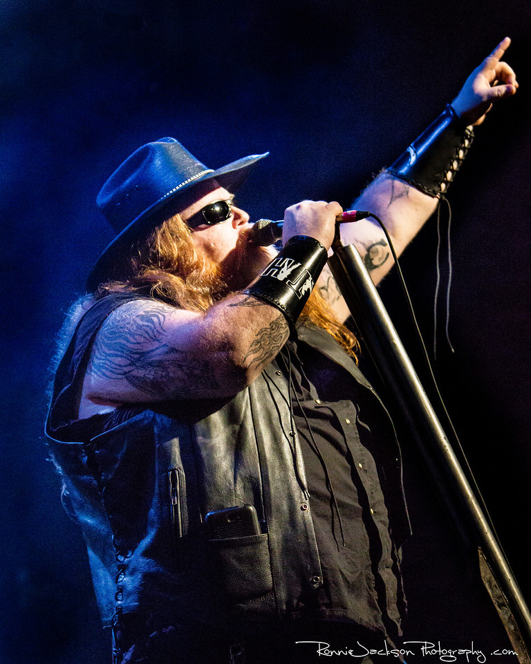 Big Dad Ritch - Texas Hippie Coalition - Performing at Trees Dallas for 2013 Ride for Dime<br /> <br /> 8-17-2013<br /> © 2013 Ronnie Jackson Photography