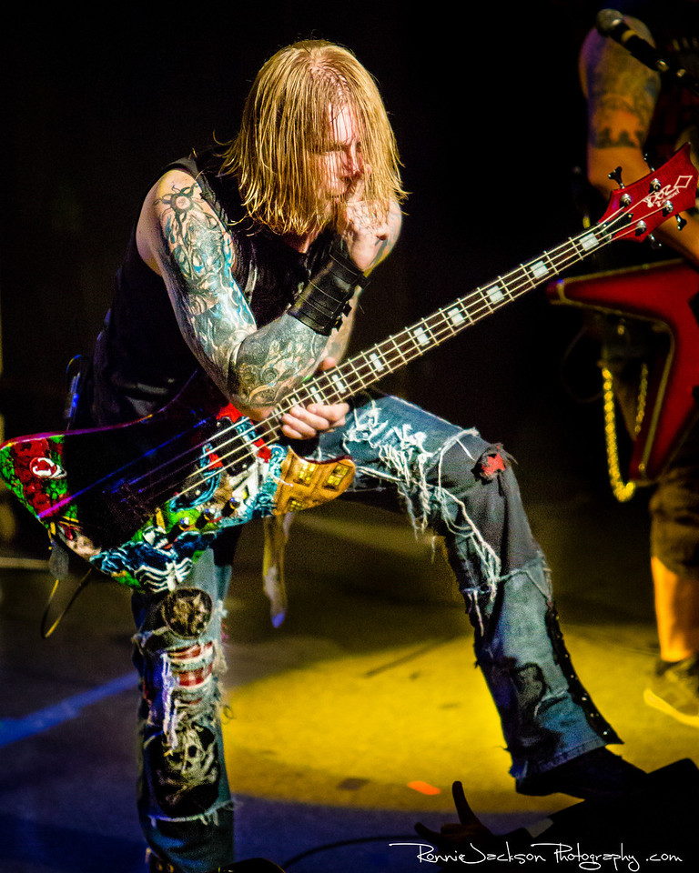 John Exall - Texas Hippie Coalition - Performing at Trees Dallas for 2013 Ride for Dime<br /> <br /> 8-17-2013<br /> © 2013 Ronnie Jackson Photography