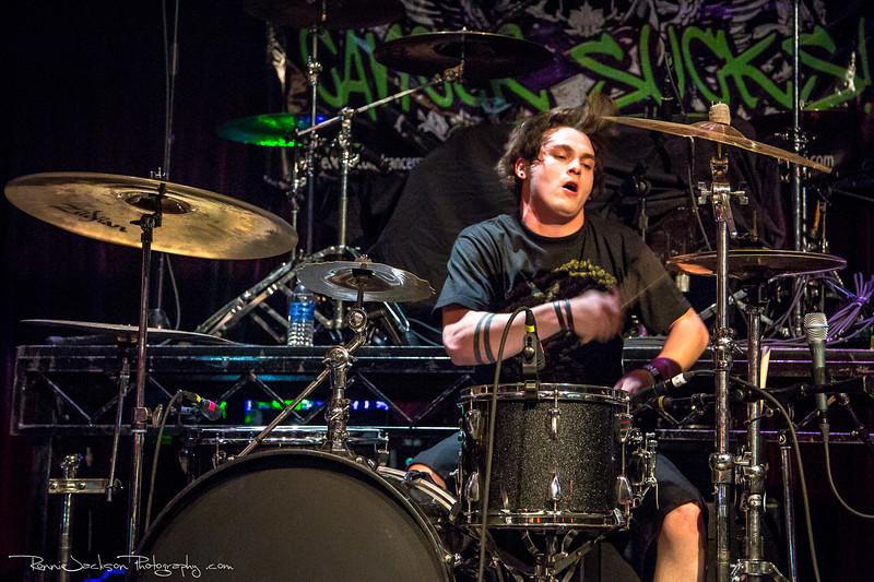Gunnar Molton of Texas Hippie Coalition performing at Cancer Sucks! Handlebars and Hotrods Benefit Concert<br /> <br /> Cain's Ballroom in Tulsa Ok.<br />  5/11/2013