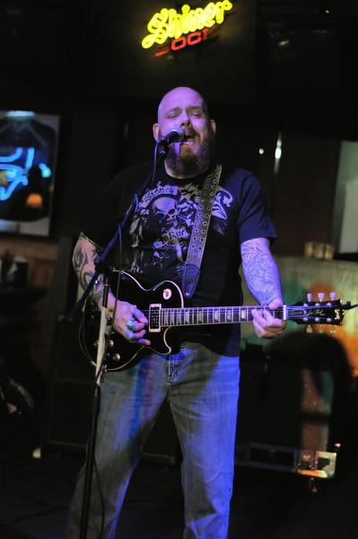 Brandon Jenkins at Big Sam's Grill in Corpus Christi, TX in June 2009