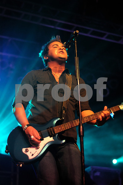 Eli Young Band in Corpus Christi, TX at Concrete Street on 08/15/09