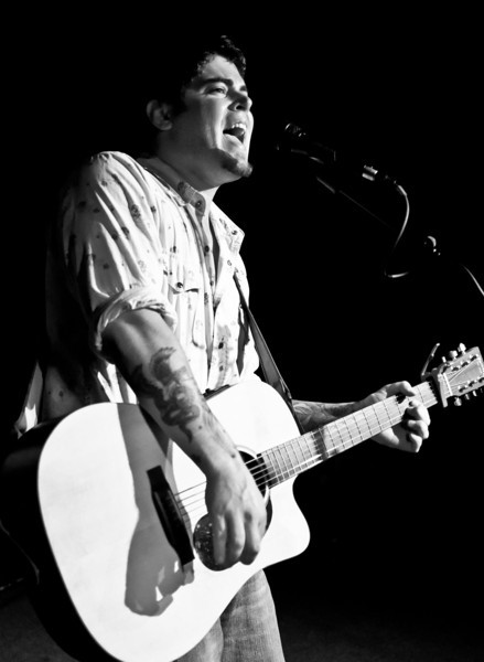 Ryan Wimbish playing at the Asylum in Portland, ME