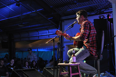 Ryan Wimbish playing acoustic at Brewster Street Icehouse in Corpus Christi, TX on 12/22/2009