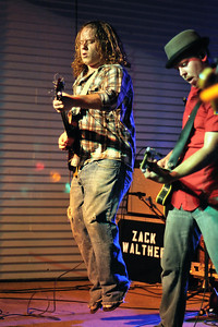 Zack Walther and the Cronkites playing at Brewster Street Icehouse in Corpus Christi, TX.  Luke Leverett Guitar