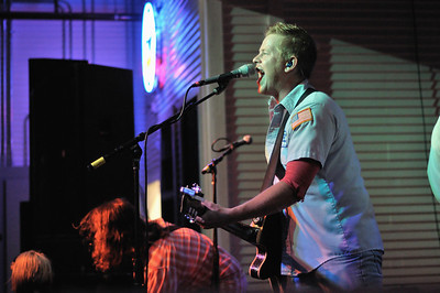 Zack Walther and the Cronkites playing at Brewster Street Icehouse in Corpus Christi, TX