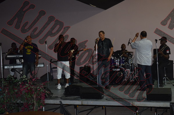 The Dramatics @ The Piece of the Rock July 5th 2014