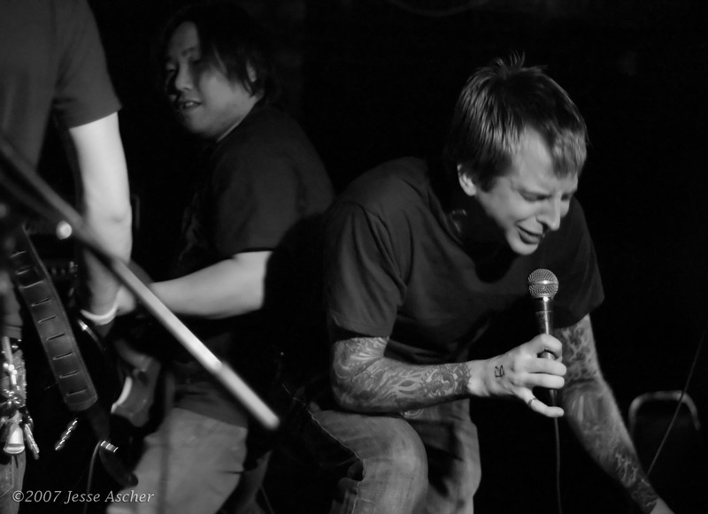 The Framed - 04-28-07  Club Underground, Minneapolis, MN