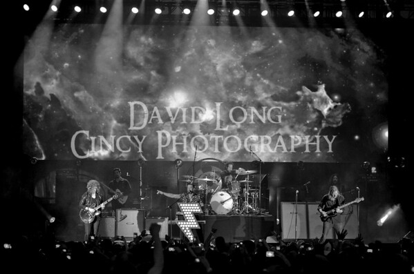 The  Killers Live in Concert Band Photos by David Long