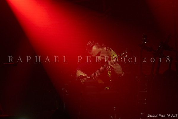 Thomas Dutronc and his Gipsy Jazz band. November 2018 Jerome Ciosi, guitar