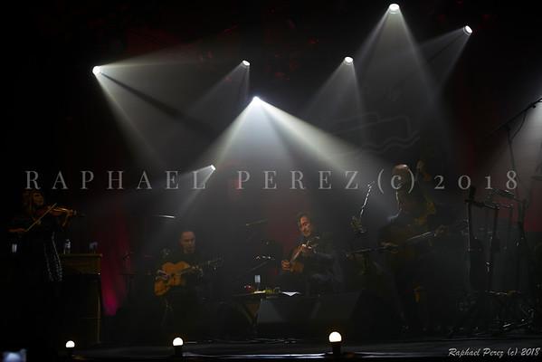 Thomas Dutronc, guitar and his Gipsy Jazz band. November 2018