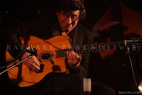 Thomas Dutronc and his Gipsy Jazz band. November 2018