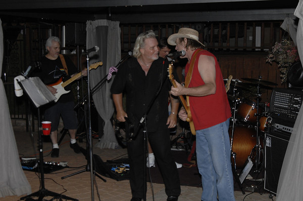 Tommy's Band at Rays Party