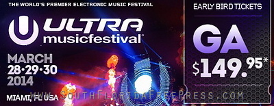 ULTRA MUSIC FESTIVAL 2014 ANNOUNCES FULL ON SALE
