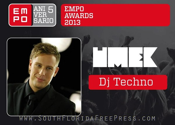 UMEK - Yet another award for Slovenian techno machine
