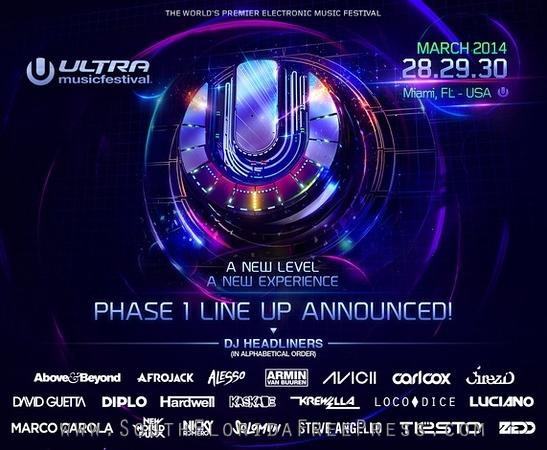 Ultra Music Festival - 2014