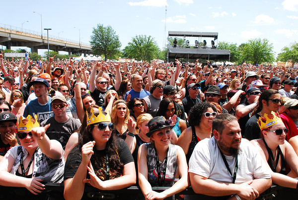 The crowd at Welcome To Rockville