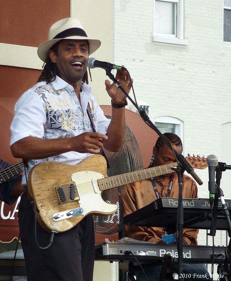 Kenny Neal, taken at the Western MD Blues Festival, 2010