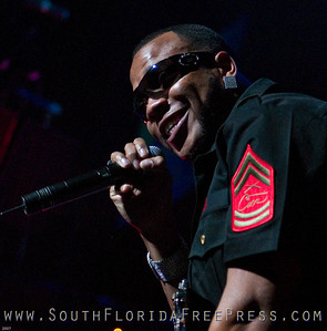 Flo Rida at Y100 Jingle Ball