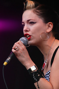Imelda May @ Summer Madness, Isle of Wight 29/08/10