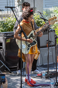 Jessica Hernandez and The Deltas, Ann Arbor, Michigan, Sonic Lunch, 08/29/2019