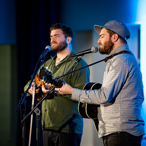 The Brother Brothers at the Wells Community Cultural Center in Lafayette, IN on 28/2/2020