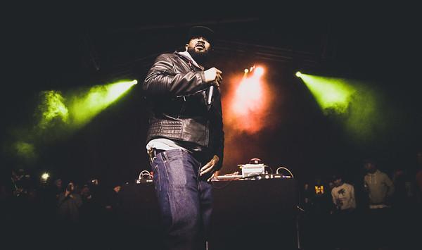 Ghostface Killah of Wu-Tang Clan at the OC Observatory