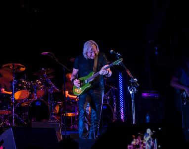 Joe Walsh with green guitar