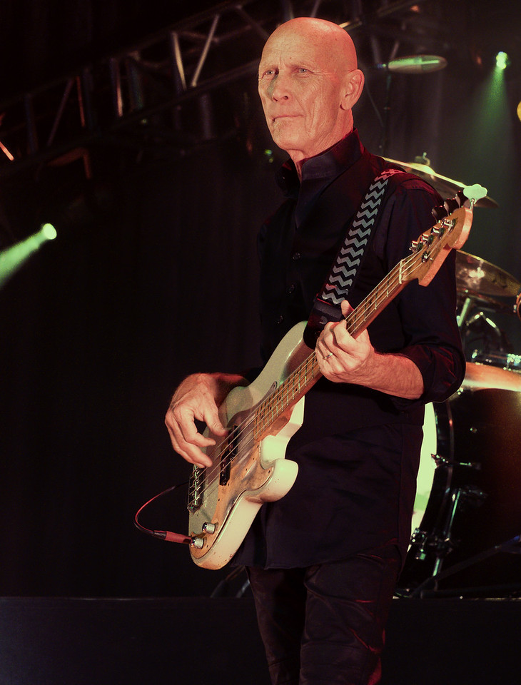 Michael Rhodes, JB's bass player