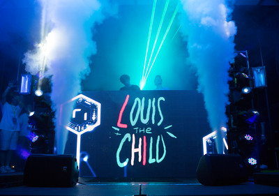 Louis the Child performs at Vanderbilt Lights on the Lawn on Friday, September 22, 2017