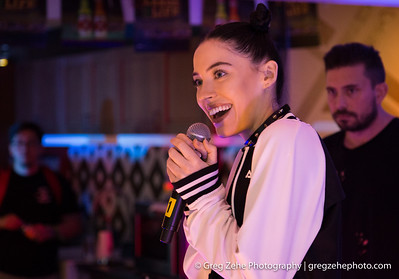 Bishop Briggs in the CBS Radio Soundhouse at Life Is Beautiful 2016