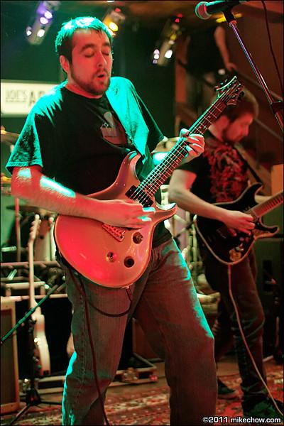 Synapse live at Joe's Apartment, Vancouver BC, May 14, 2011.